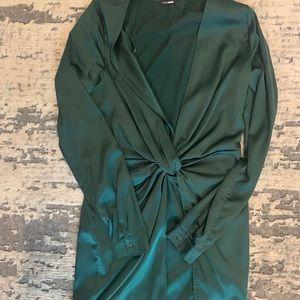 Dark Green Fashion Nova dress